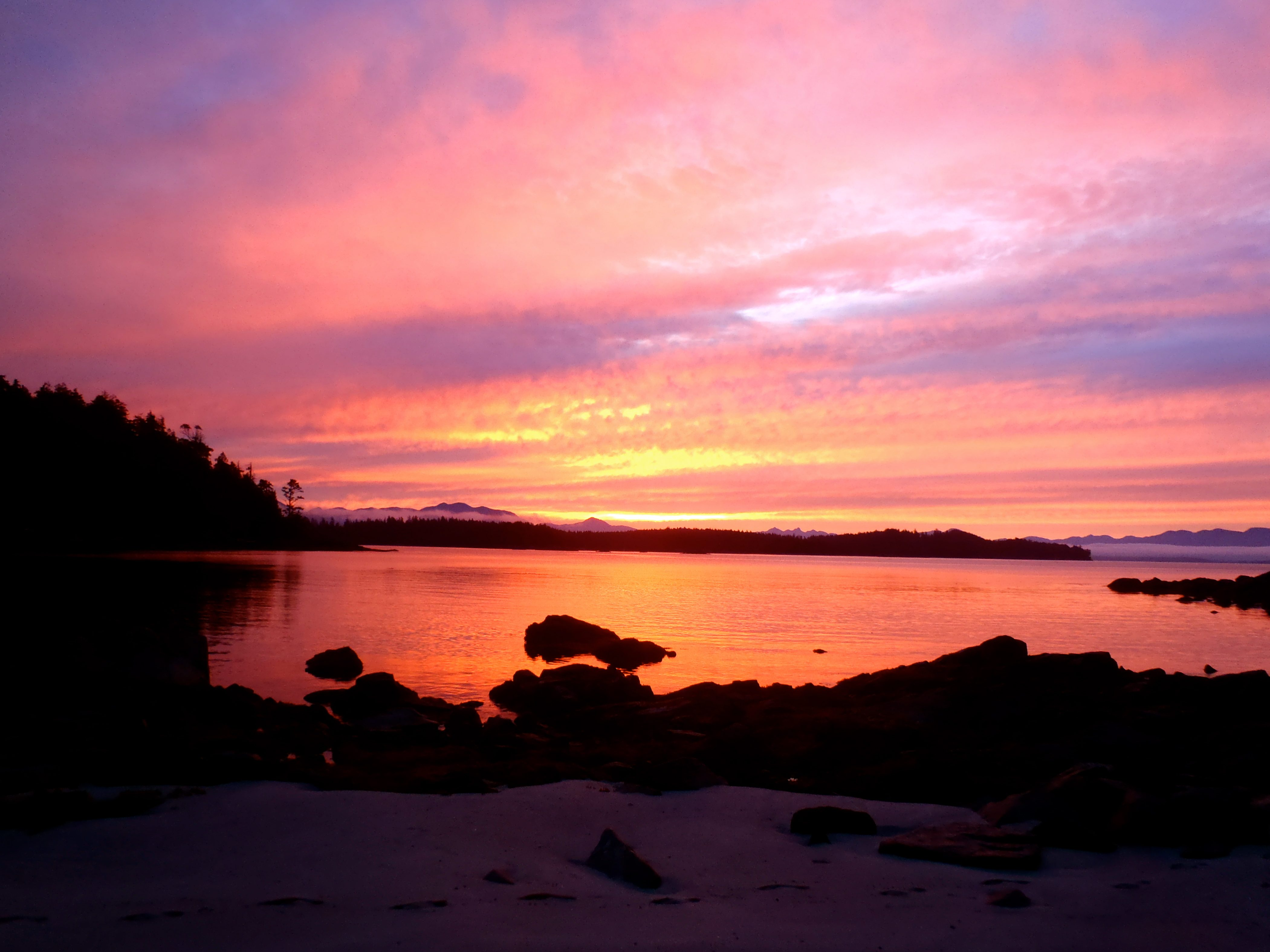 Sunset - Salt Spring Island