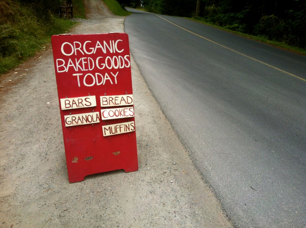 Freah Organic Baked Goods Today! Yum!!